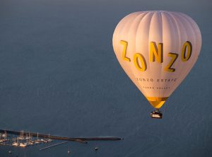 hot air balloon geelong